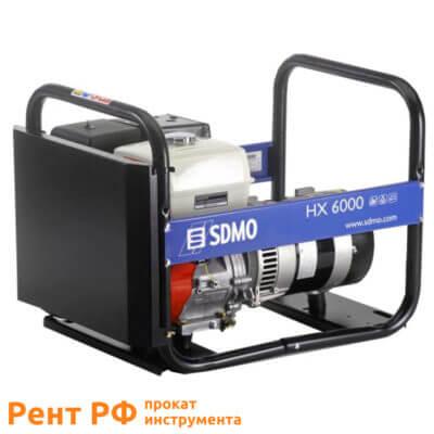 SDMO HX 6000 бензогенератор аренда